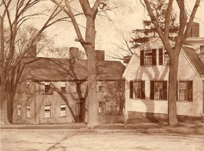 Babcock Tavern, about 1900