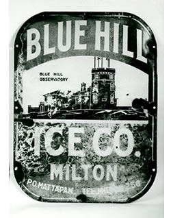 Blue Hill Ice Co. Sign