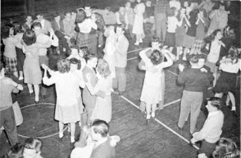 Dance in Gym, 1948