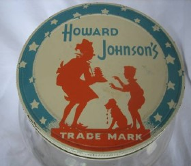 early Howard Johnson's Restaurant trademark