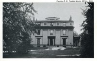 Captain Robert Bennet Forbes House