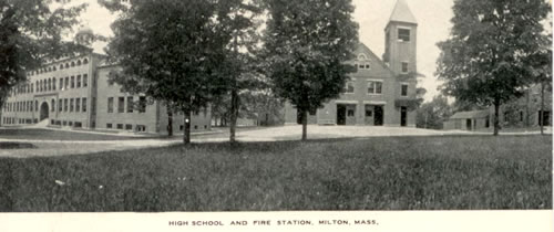 Milton High School and the Central Fire Station