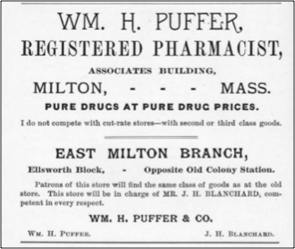 Wm. H. Puffer Pharmacy