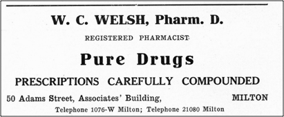 W. C. Welsh, Pharm. D.